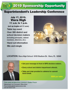 Superintendent Summit Rate Card